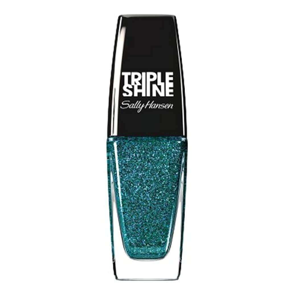盗賊震えラフSALLY HANSEN Triple Shine Nail Polish - Sparkling Water (並行輸入品)