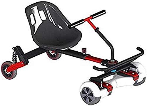 Brigmton BKART-360 GoKart Silla Kart Scooter, Negro, Juventud Unisex, 43 x 57 x 16 cm