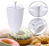 Molde para donas de bricolaje para hacer pasteles, máquina de hacer donas, dispensador manual de utensilios de cocina