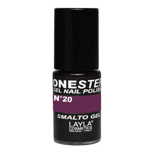 Layla Cosmetics One Step Gel Nagellack, arabesque, 1er pack (1 x 0.005 L)