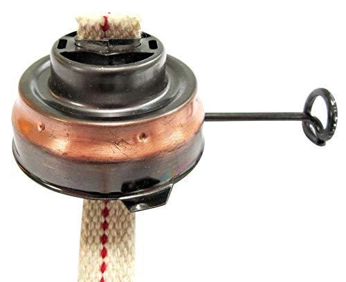 Dietz Brenner mit Docht, altdeutsch Kupfer lackiert, Sturmlaterne Modell 0048