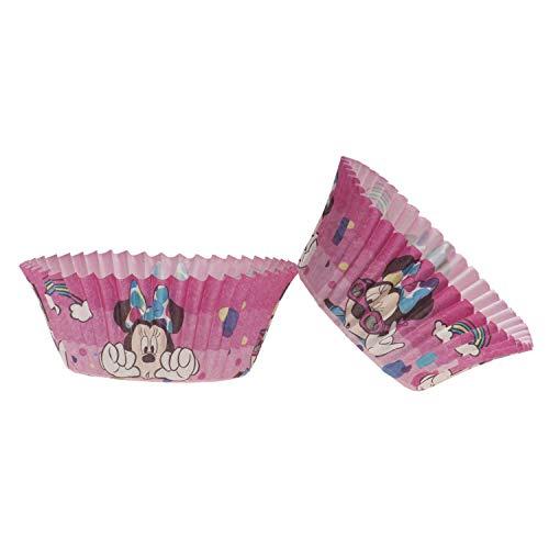 Dekora - Minnie Maus Backformen Set   Muffin und Cupcake Formen Papier - 25 Stück