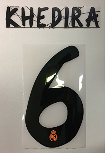 Flock Original Real Madrid Trikot 25cm - KHEDIRA 6