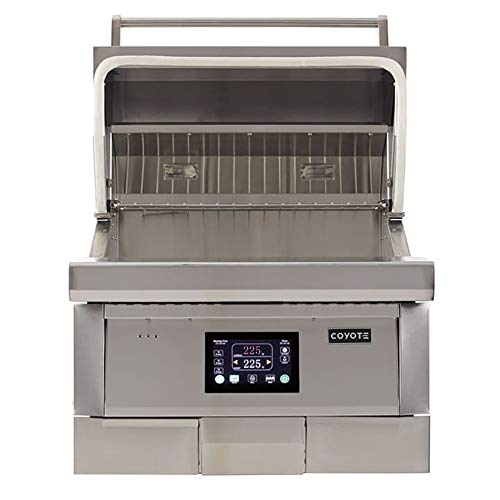 """28"""" Coyote Built-in Pellet Grill Smokers"""