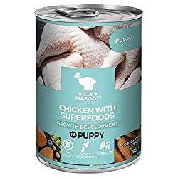 With more of the texture and flavour of real meat or poultry. Packed with quality protein as well as superfoods and holistic ingredients, each Billy + Margot product is completely grain-free, and specifically designed to cater for dogs' complex dieta...