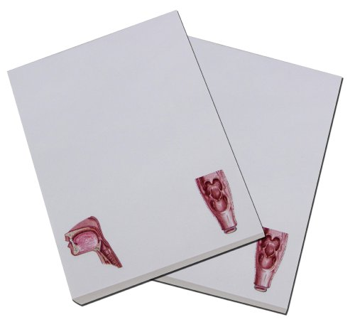 Swallowing Flip Book Note Pad, See Animation Effect of the Swallowing Process By Flip the Note Pad Stack Size:4x5.25inch, Dysphagia