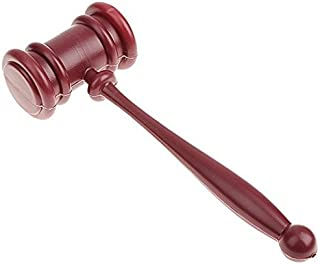 EBTOYS Gavel Hammer Prop Novelty Accessory for Halloween Fancy Dress Costume Party