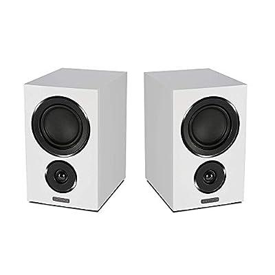 Mission LX-2 Bookshelf Speaker - White Sandex (pair) by Mission