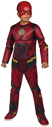 Marvel - Disfraz de Flash calidad Premium para niños, infantil 5-7 años (Rubie's 630977-M)