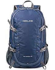 NODLAND Lichtgewicht rugzak, 40L opvouwbare waterbestendige dagrugzak, wandelen outdoor camping rugzak voor mannen en vrouwen, grote capaciteit