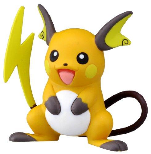 TAKARA TOMY Takaratomy Officiel Pokémon X et Y Mc-047 5,1 cm Raichu Action Figure
