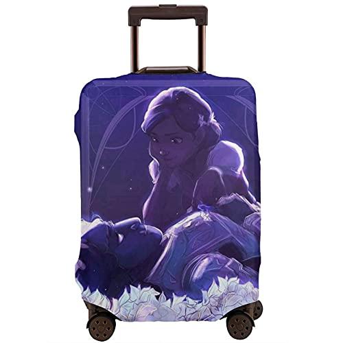 Troll Hunter - Custodia protettiva per valigia, lavabile e interessante, con elastico, bianco, L,
