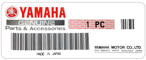 YAMAHA 90179-06500-00 NUT,SPEC'L Shape; 901790650000