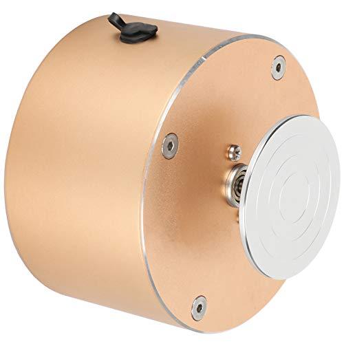 Mini rueda de alfarería desmontable 100-120 V antideslizante pequeña máquina de rueda de alfarería 6,5 cm para entusiastas de la cerámica para(European regulations)
