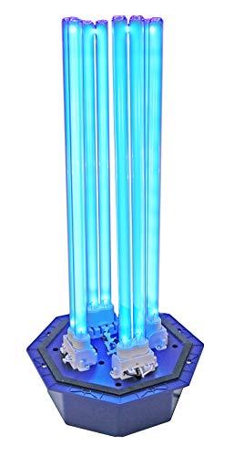 "OdorStop OS144PRO1 UV Air Purifier - 144 Watt System with Energy Saving Airflow Sensor and 16"" Bulbs"