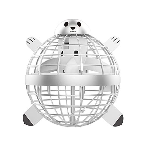Dapei Flying Ball Spielzeug, Sphärische magische Steuerung, Mini-Drohne-Flugspielzeug, integriertem RGB-Lichtrotator, 360 ° drehbarem UFO, sicher für Kinder Erwachsene (A)