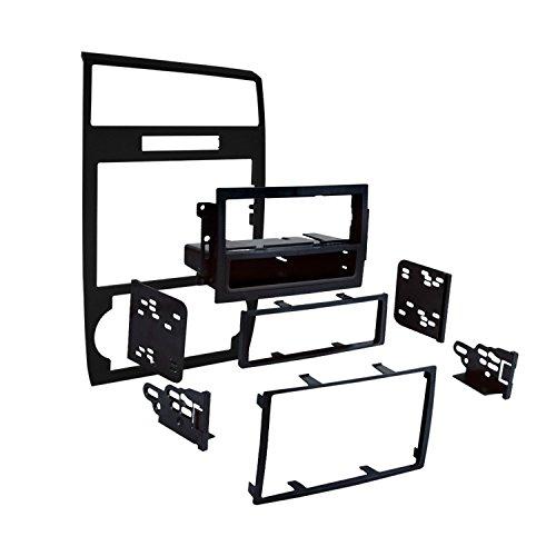 Metra 99-6519B Single/Double DIN Installation Dash Kit for Select Dodge Vehicles (Black)