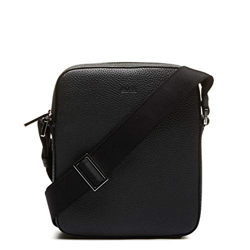 BOSS Herren Crosstown_NS Mini Crossbody Bag, Black1, ONESI