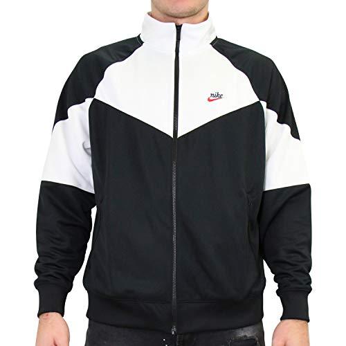 NIKE Sportswear Windrunner Chaqueta, Hombre, Black/Summit White/Black, XS