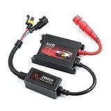 ELECTROPRIME Car Headlight 35W HID Slim Ballast Black for 9005 9006 D2S Xenon
