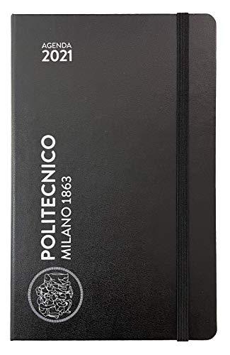 Politecnico Milano 1863, Agenda 2021 Weekly - MOLESKINE (Pocket, Nero)