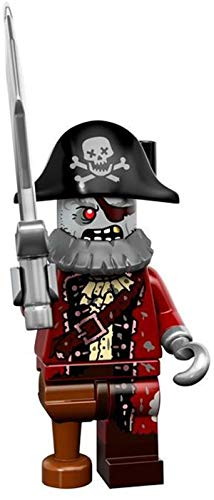 Lego Minifiguren, Serie 14,71010 Lego Series 14 Zombie Pirate