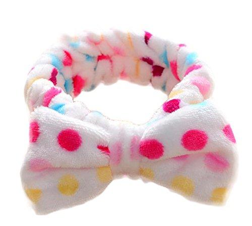 Joy Feel Buy 1 pièces Schöne stilvolle bowk Not Make Up laver Douche Spa atmungsaktivem Cheveux Bracelet pour femmes filles