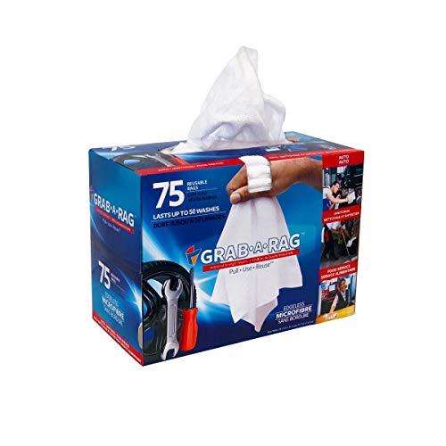 Toallitas de microfibra de trapo, suaves, muy absorbentes, sin pelusas, reutilizables, para casa, cocina, baño, coche, electrónica, pantalla de televisión, paquete de 75 unidades