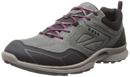 Ecco Damen BIOM ULTRA LADIES Outdoor Fitnessschuhe, Grau (BLACK/DARKSHADOW/BURGUNDY 58638), 37 EU