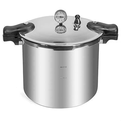 Pressure Canner Cooker Canning Pot Large 22-Quart Best Vegetables Canners +Rack