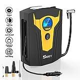 SKEY Digital Tyre Inflator, Car Tyre Pump, 12V 150 PSI Tire air Pump