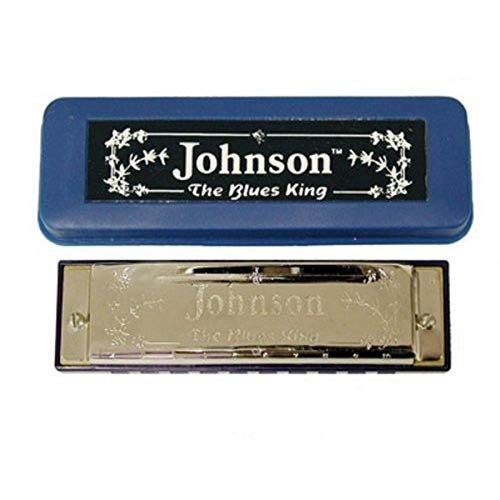 Johnson BK-520-C Blues King Armónica, C