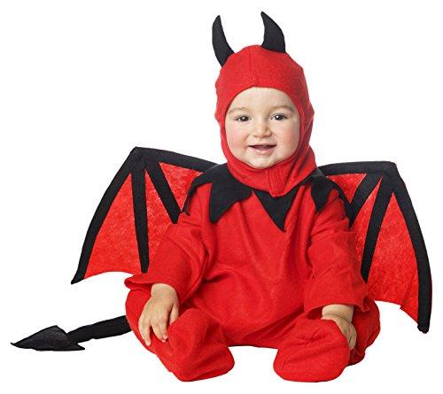 My Other Me Me-205058 Disfraz de diablillo bebé para niño, 1-2 años (Viving Costumes 203261