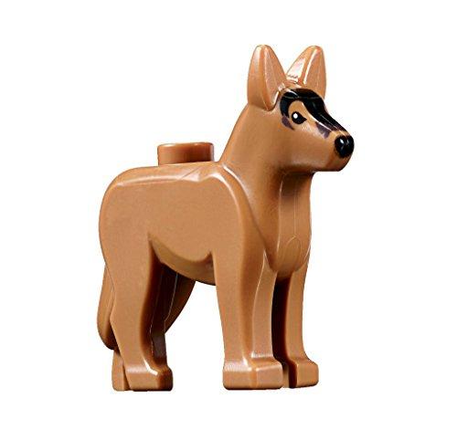 Lego German Shepherd Dog Animal Minifigure