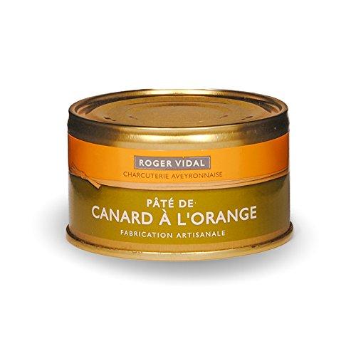 Roger Vidal - Pastete Ente mit Orange (Canard à l'Orange) 125 g