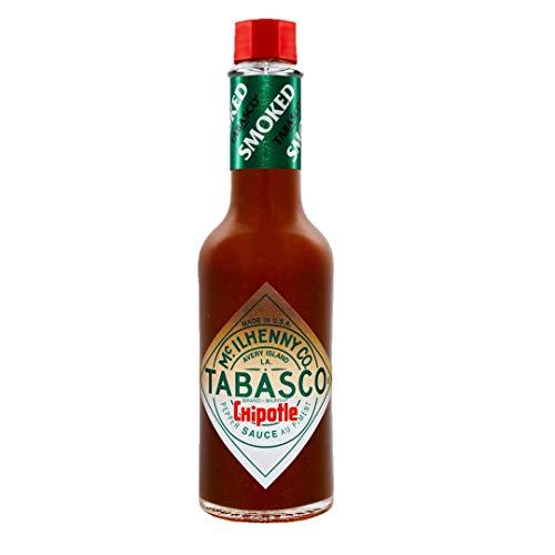 TABASCO Chipotle Pepper Sauce, 1x150ml, 0,15 l, Chipotle Chili Sauce, 100% natürlich, Glasflasche