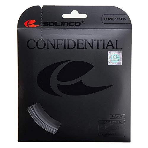 Solinco Confidential Tennis String (17 Silver)
