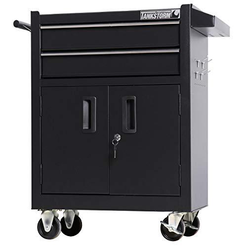TANKSTORM Tool Chest Heavy Duty Cart Steel Rolling Tool Box