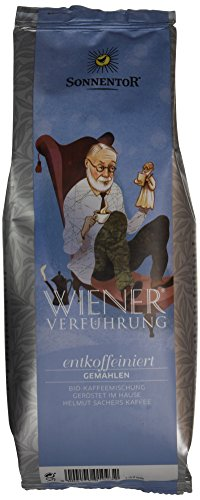 Sonnentor Entkoffeiniert gemahlen Wiener Verführung, 1er Pack (1 x 500 g) - Bio