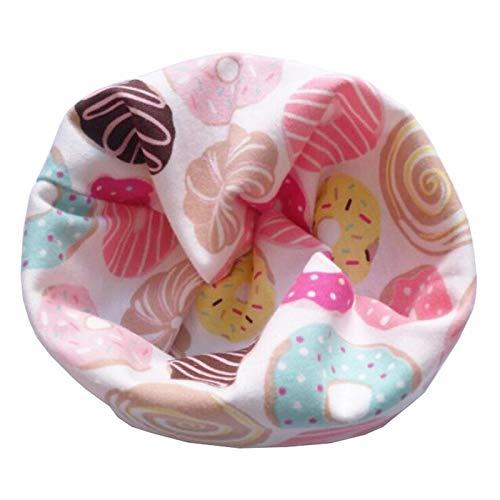 Nieuwe katoenen herfst winter kinderen mutsen baby sjaal sjaal ring kinderen beanie cap scullies hoed sportmuts