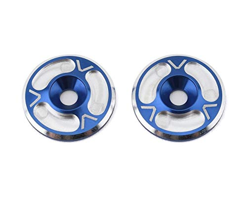 AVD10012BLU for Triad HD Wing Mount Buttons (2) (Blue/Silver) AVD10012-BLU