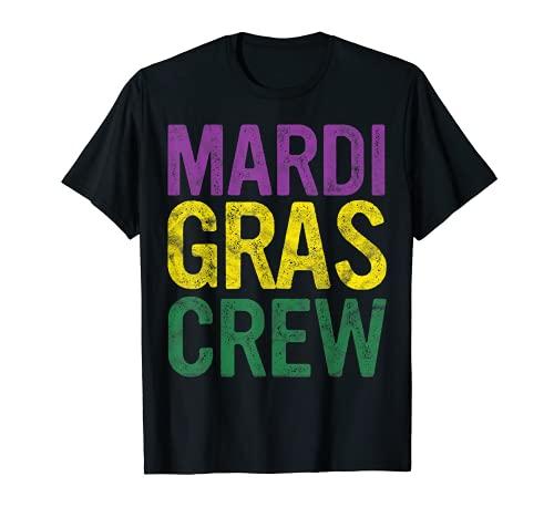 Disfraz retro de Mardi Gras con cuentas de regalo para disfraz Camiseta