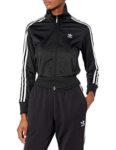 adidas Originals womens TRACK TOP Jacket, BLACK/WHITE, M M US