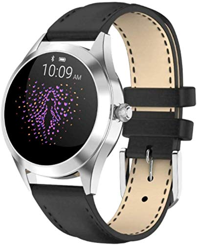 Smartwatches Lady Kw10 Color Ip68 Lady Fitness Tracker Round Touch Screen Smart Watch