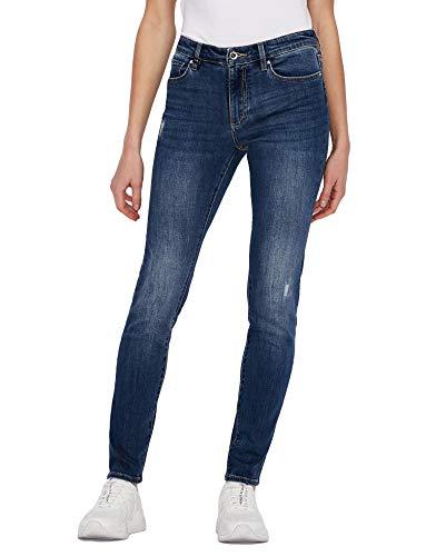 ARMANI EXCHANGE Super Skinny Lift Up Jeans, Indigo Denim, 30 Donna