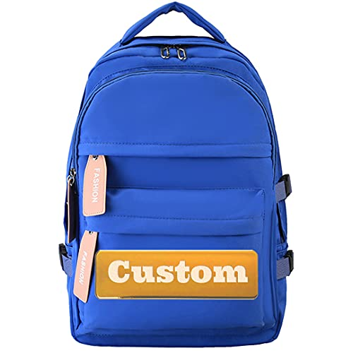 TCross Neatorio Personalizado Personalizado Nylon para Mujeres Lightweight Camo Daypack Mochila Hombres Ligeros (Color : Blue, Size : One Size)