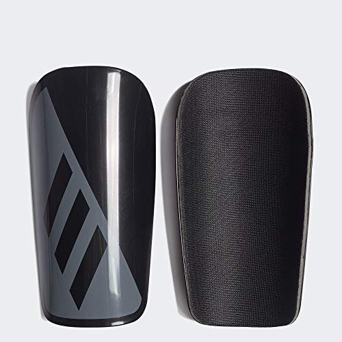 X LESTO Soccer Shin Guards, Black/Grey, L