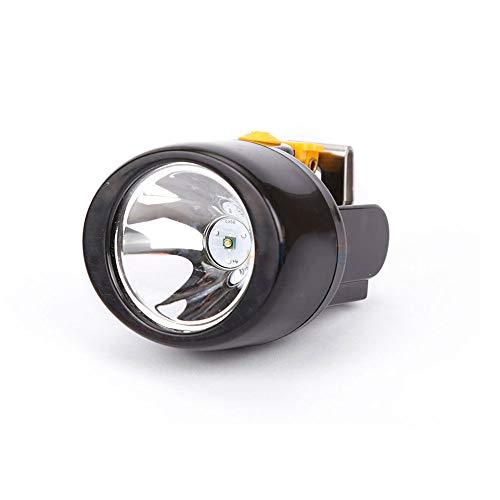 HLIGHT Bergbau Scheinwerfer KL2.8LM aufladbare Taschenlampe Scheinwerfer-Bergbau-Licht Wasserdichtes Schutzhelm Lampe LED-Scheinwerfer