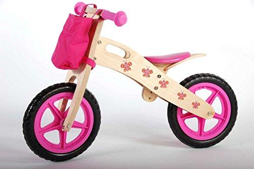 Yipeeh volare0042312Zoll Volare Schmetterling Mädchen Holz Balance Bike