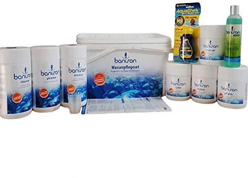Banisan 11 teiliges Wasserpflege-Set - Wasserpflege Set für Whirlpool, Softub (Badezusatz:Ginger)